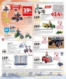 Catalogue Auchan en cours, Des jouets de rêves, Page 102