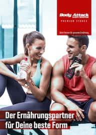 Aktueller Body Attack Prospekt, Der Ernährungspartner für Deine beste Form, Seite 1