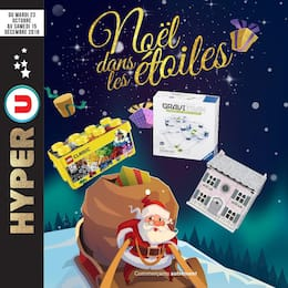 Catalogue Hyper U en cours, Noël dans les étoiles, Page 1