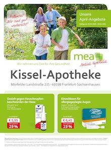 mea - meine apotheke, UNSERE APRIL-ANGEBOTE  für Frankfurt (Main)1