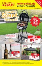 Aktueller Netto Marken-Discount Prospekt, Sommer, Sonne, Freizeit!, Seite 1