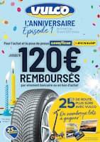 Catalogue Vulco en cours, Jusqu'à 120€ remboursés par virement bancaire ou en bon d'achat, Page 1