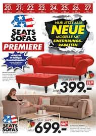 Aktueller Seats and Sofas Prospekt, Seats and Sofas Premiere, Seite 1