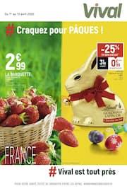 Catalogue Vival en cours, # Craquez pour Pâques !, Page 1