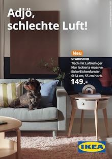 IKEA Prospekt für Lengerich, Westf: Adjö, schlechte Luft!, 1 Seite, 17.10.2021 - 24.10.2021