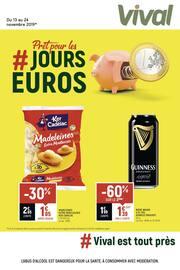 Catalogue Vival en cours, # Prêt pour les jours euros, Page 1