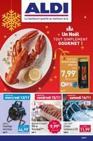 Catalogue Aldi en cours, Un Noël tout simplement gourmet !, Page 1