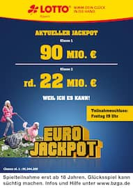 Aktueller LOTTO Bayern Prospekt, Aktueller Jackpot, Seite 1
