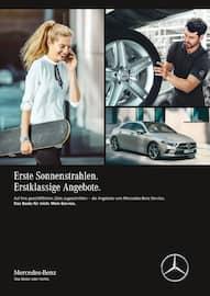 Aktueller Mercedes-Benz Prospekt, Erste Sonnenstrahlen. Erstklassige Angebote., Seite 1