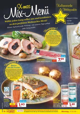 Aktueller Netto Marken-Discount Prospekt, Wir wünschen ein Frohes Fest!, Seite 16
