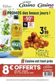 Catalogue Casino Shop en cours, # Promos des beaux jours !, Page 1