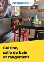Catalogue Castorama en cours, Cuisine, salle de bain et rangement, Page 1