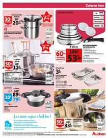 Catalogue Auchan en cours, L'escalope de veau à la crème responsible de Pierre., Page 19