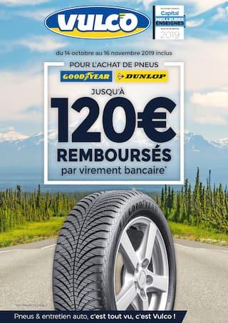 Catalogue Vulco en cours, Jusqu'à 120€ remboursés , Page 1