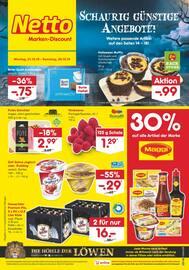 Aktueller Netto Marken-Discount Prospekt, Nackte Tatsache: Wir haben unverpacktes Obst und Gemüse., Seite 3