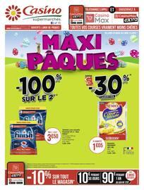 Catalogue Casino Supermarchés en cours, Maxi Pâques, Page 32