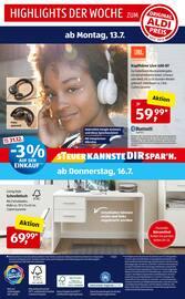 Aktueller ALDI SÜD Prospekt, Meine Woche, Seite 36