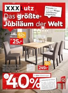 XXXLutz Möbelhäuser, DAS GRÖSSTE JUBILÄUM DER WELT. für Alteglofsheim