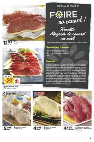 Catalogue Casino Supermarchés en cours, Les bons plans jouent les stars !, Page 5
