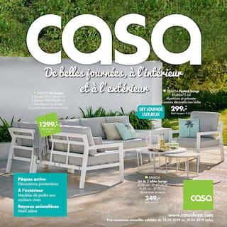 Catalogue Casa en cours, De belles journées, à l'intérieur et à l'extérieur, Page 1