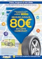 Catalogue Vulco en cours, Recevez jusqu'à 80€ en carte carburant, Page 1