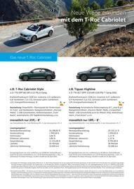 Aktueller Volkswagen Prospekt, Sensationelle Angebote, Seite 2