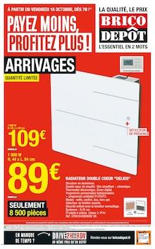 """Brico Dépôt Catalogue """"Payez moins, profitez plus !"""", 24 pages, Saint-Brice-sous-Forêt,  14/10/2021 - 28/10/2021"""