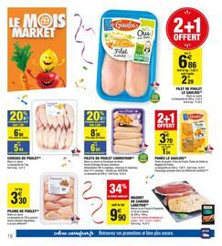 Catalogue Carrefour Market en cours, Le mois market, Page 18
