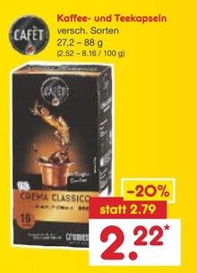 Kaffee im aktuellen Netto Marken-Discount Prospekt für 2.22€
