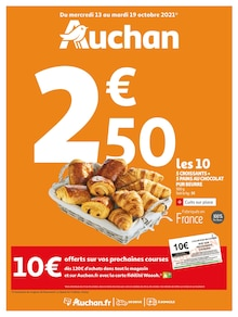 "Auchan Catalogue ""Auchan"", 80 pages, Champlan,  12/10/2021 - 19/10/2021"