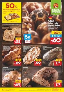 Brot im Netto Marken-Discount Prospekt DER ORT, AN DEM QUALITÄT AUS DEUTSCHLAND STAMMT. auf S. 22
