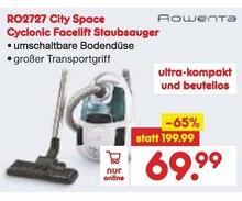 Zyklon Staubsauger von Rowenta im aktuellen Netto Marken-Discount Prospekt für 69.99€