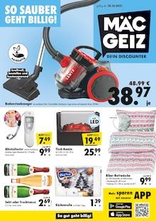 Mäc-Geiz Prospekt für Bad Münder am Deister: Dein Discounter!, 11 Seiten, 17.10.2021 - 22.10.2021