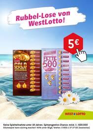 Aktueller Westlotto Prospekt, Rubbel-Lose von WestLotto!, Seite 2