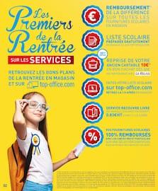 Catalogue Top Office en cours, Les premiers de la rentrée sur les fournitures scolaires, Page 2