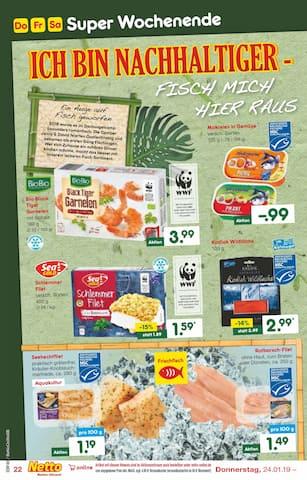 Aktueller Netto Marken-Discount Prospekt, ICH BIN EIN ANGEBOT - HOLT MICH HIER RAUS!, Seite 22