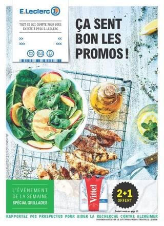 Catalogue E.Leclerc en cours, Ça sent bon les promos !, Page 1