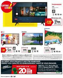 Catalogue Conforama en cours, Confochoc ! Onde de choc sur les prix, Page 20