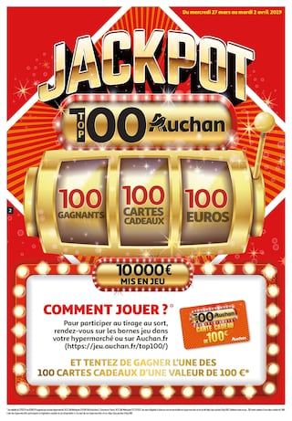 Catalogue Auchan en cours, Top 100 Auchan, Page 2