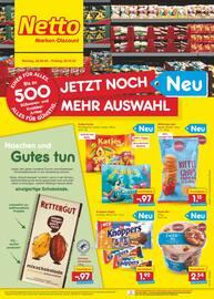Aktueller Netto Marken-Discount Prospekt, JETZT NOCH MEHR AUSWAHL, Seite 1