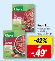 Lebensmittel von Knorr im aktuellen Lidl Prospekt für 0.49€