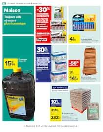 Catalogue Carrefour en cours, Chandeleur, des promos qui épatent, Page 62