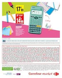 Catalogue Carrefour Market en cours, Le meilleur de la rentrée moins chère, Page 20
