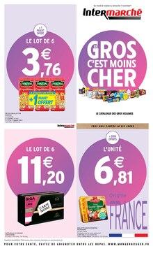 """Intermarché Catalogue """"En gros c'est moins cher"""", 20 pages, Vermondans,  25/10/2021 - 07/11/2021"""