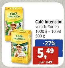Kaffee von Café Intención im aktuellen BUDNI Prospekt für 5.49€