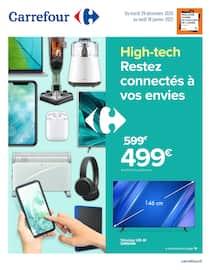 Catalogue Carrefour en cours, High tech, restez connectés à vos envies, Page 1