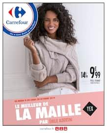 Catalogue Carrefour en cours, Le meilleur de la maille, Page 1
