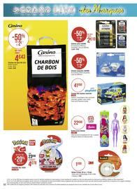 Catalogue Casino Supermarchés en cours, Les promos entrent en scène !, Page 44
