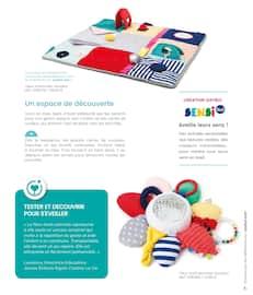 Catalogue Oxybul en cours, Guide d'éveil 0-2 ans. À la découverte de ses talents !, Page 5