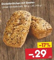 Backwaren im aktuellen Netto Marken-Discount Prospekt für 0.29€